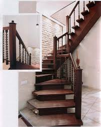 Decorations Fancy Decorating Staircase Design Ideas With Brown