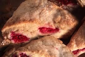 raspberry scones recipe chowhound