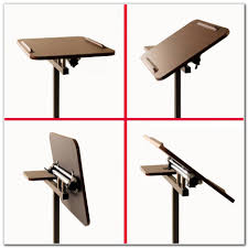Laptop Desk Cart by Mobile Laptop Desk Cart