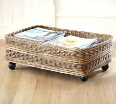Pottery Barn Storage Bins Under Bed Storage With Wheels U2013 Robys Co