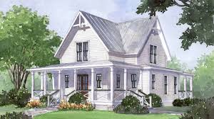 farmhouse house plan house plan of the month four gables southern living