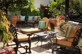Blue Patio Furniture Sets - patio awesome wicker patio furniture sets clearance patio