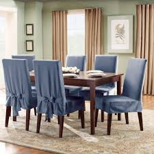 leather ladder blue set of 1184 kitchen chair seat covers homed