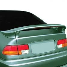 2000 honda civic spoiler 2000 honda civic spoilers custom factory lip wing spoilers