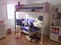 building girls loft beds with desk u2014 room decors and design