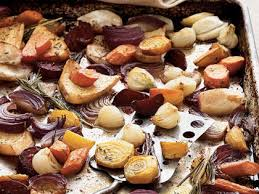 Recipe For Roasted Root Vegetables - balsamic rosemary roasted root vegetables recipe myrecipes