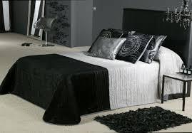 striking ideas for black bedroom