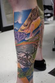 full calf tattoo larsons tattooing