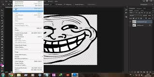 Troll Meme Mask - how to make a troll face meme brush with photoshop hd youtube