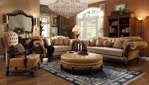 Leather And Fabric Living Room Sets Hd 5144 Homey Design Leather Fabric Living Set Living Room