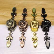 popular copper drawer pulls buy cheap copper drawer pulls lots 120mm red copper black golden antique brass bronze color zinc alloy kitchen furniture