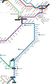 Xiamen China Map by Metro Map Of China U0027s High Speed Rail Makes Transferring Between