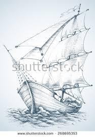 Sailboat Wallpaper Sailboat Wallpaper Stock Vector 268695353 Shutterstock