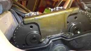 how to valve clearance chain tension sv650 youtube