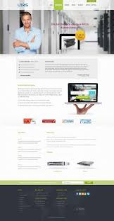utris free web hosting psd website template web design