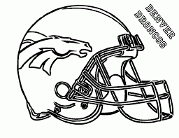 broncos coloring pages 20006