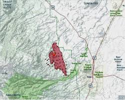 Oregon Forest Fires Map by Oregon Smoke Information June 2014