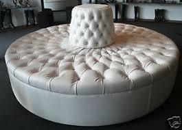round sofa extraordinary ivory tufted round sofa chair custom made 7