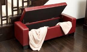 rothwell storage bench ottoman groupon