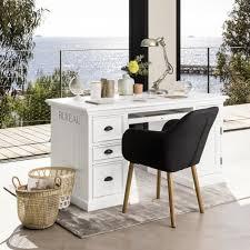 bureau chrome chrome metal adjustable desk l maisons du monde