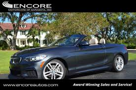 2015 bmw 2 series convertible 2015 used bmw 2 series 228i convertible w m sport technology and