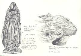 sketches of sculptures by reflection of roses on deviantart