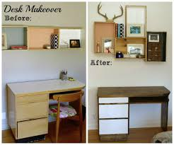 Mid Century Desk This Little Miggy Stayed Home Bedroom Makeover Mid Century Desk