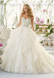 organza wedding dress wedding dress with bodice on organza style 2815 morilee