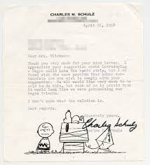 thanksgiving mail to clients how a schoolteacher helped create the first black peanuts character