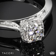 tacori dantela rsg tacori dantela crown complete solitaire engagement ring 3214