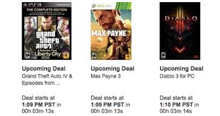 video games amazon black friday amazon black friday video game deals 2012 grand theft auto 4 max