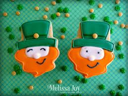 leprechaun cookies for st patrick u0027s day melissa joy cookies
