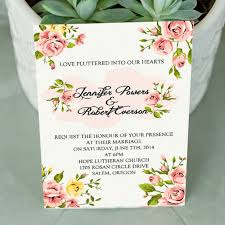 Affordable Wedding Invitations With Response Cards Inexpensive Coral Spring Floral Wedding Invitations Ewi342 As Low