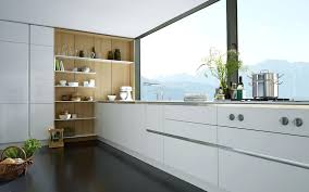 Contemporary White Kitchen Designs Modern Kitchen Handles White Cupboard Cabinet Without Handle