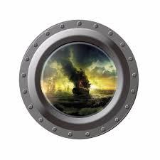 aliexpress com buy creative home decor 3d submarine window wall