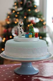 Christmas Cake Decorations Frozen by 146 Best Winter Cakes Images On Pinterest Christmas Cakes