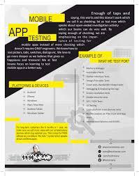 sample resume experienced manual testing create professional