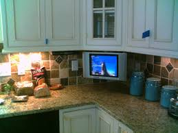 kitchen television ideas fresh kitchen tv radio cabinet taste