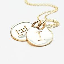 necklaces with initials piccola jewelry personalized necklaces piccola jewelry