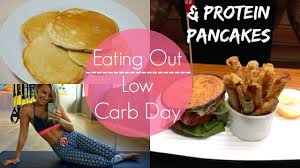 gluten free low carb protein pancakes eating out on low carb
