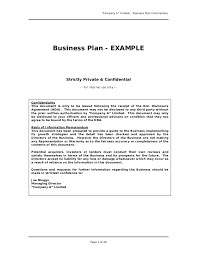 Business Letter Format For Loan Construction Business Plan Template 4 Startup Business Plan