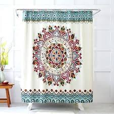 Multi Color Shower Curtains Bright Colored Shower Curtains U2013 Teawing Co