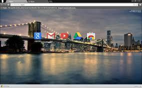 google themes lights brooklyn bridge city lights free chrome themes axl g
