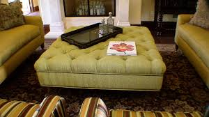 custom built and upholstered ottoman traditional footstools