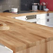 plan de travail cuisine hetre du bois hêtre pour votre plan de travail de cuisine leroy merlin
