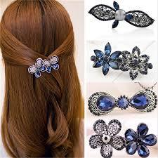 rhinestone hair royal blue rhinestone hair clip the enchanted forest