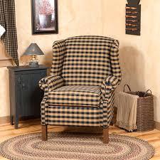 Slipcover Wing Chair La Z Boy Wingback Recliner Slipcover Wingback Recliner Chair