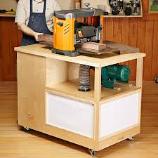 Wood Magazine Planer Reviews by Dust Collecting Tool Stand Woodworking Plan From Wood Magazine