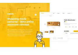 shopping made personal ikea online experience concept on behance