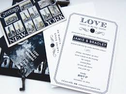 wedding invitations new york wedding invitations nyc